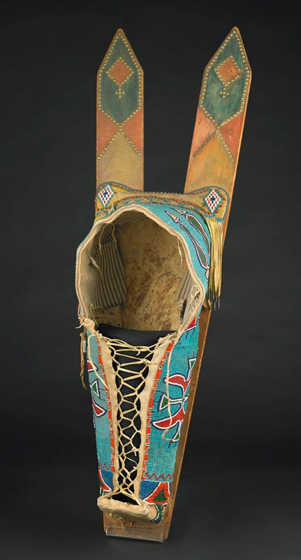 Cradleboard of the Comanche and Kiowa.