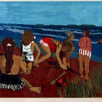 Untitled (Children on the Beach)
