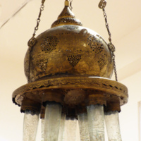 Untitled (Hanging Mosque Lamp)