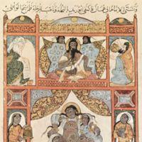 Maqamat Al-Hariri, illustrated by Y. Al-Wasiti; introduction by Oleg Grabar