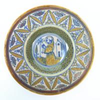 Untitled (Majolica Plate)