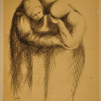 Untitled (Mourner and Consoler)
