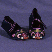 Pair Of Chinese Child's Shoes