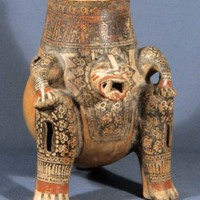Untitled (Jaguar Effigy Vessel)