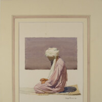 Untitled (Figure on a Prayer Mat)